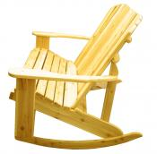 Click to enlarge image  - Adirondack Loveseat Rocker - Designed for love birds with room for two to curl up in!